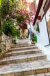 Small cretan village in Crete island, Greece.