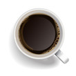 Cup of black coffee - 56236511