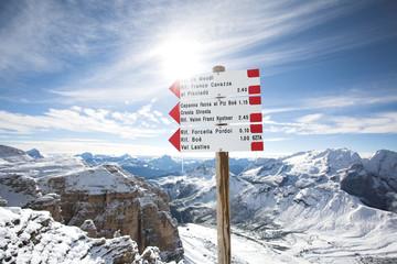 Italian Dolomites - Piz Boe, Sella