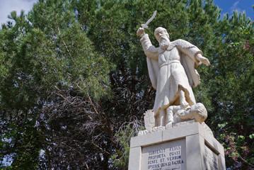 prophet Elijah statue
