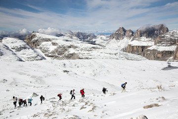 Hiking in Italian Dolomites