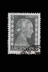 Stamp_Argentina_vintage_Eva Peron