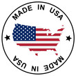 "Patch "" Made in USA """
