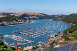 Boats and yachts in Dartmouth harbour Devon Englnd UK