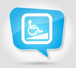Bulle : Handicap Rampe
