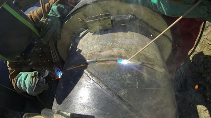 Welding and Sparks