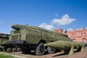 russian SCUD missile launcer