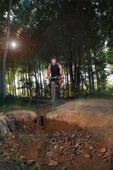 corrriendo en bici