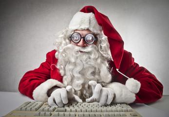nerd Santa Claus