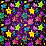 Bright seamless pattern Christmas Star