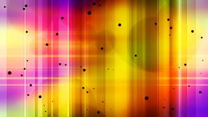 разноцветное сияние