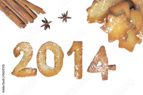2014 en pâte sablée