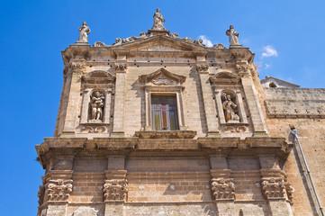Church of St. Benedetto. Manduria. Puglia. Italy.