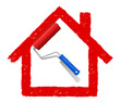 Haus Gestaltung Farbe