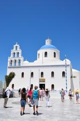 Kirche in Oia, Insel Santorin