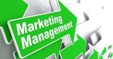Marketing Management. Business Concept. poster