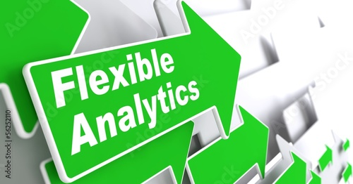 Flexible Analytics. Business Concept.