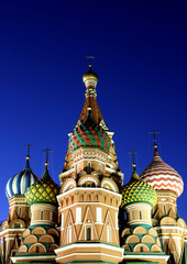 Cathedral of Basil Blessed in Moscow