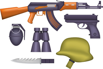 Standart Weapon Of Military