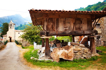 Horreo in Asturias