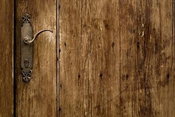 old aged door