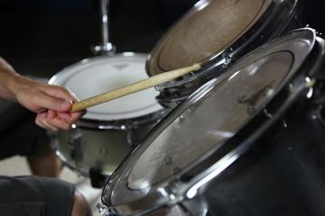Drummer on Set