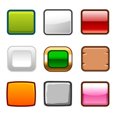 Square buttons back