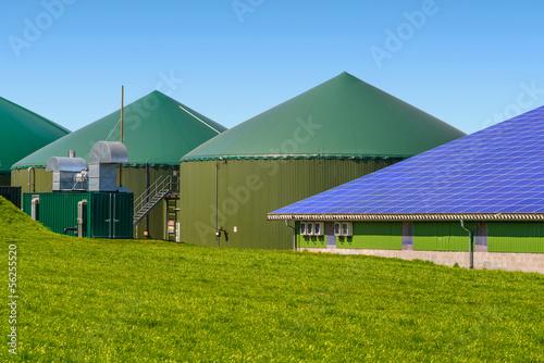 Erneuerbare Energien - Biogas und Photovoltaik 1069 - 56255520