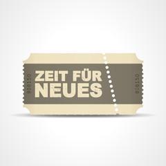 ticket v3 zeit fuer neues I