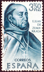 Archbishop of Mexico City Juan de Zumarraga (Spain 1970)