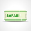 ticket v3 safari I