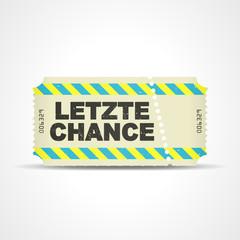 ticket v3 letzte chance I