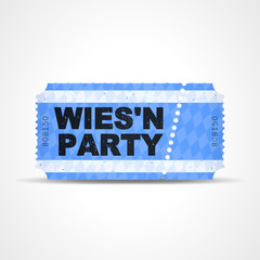 ticket v3 wies'n party I