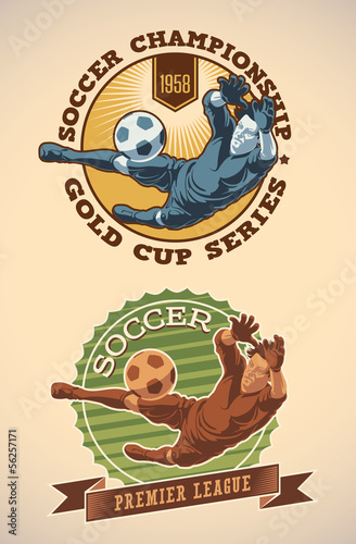 Soccer champs labels