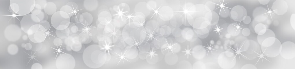 Silver Festive Background