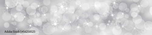 Silver Festive Background