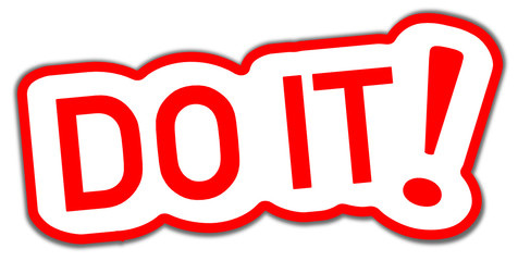 Do it Sticker roi  #130916-svg04