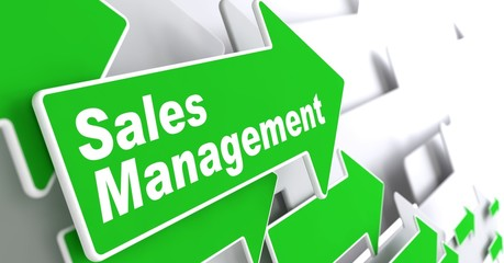 Sales Management. Business Concept.