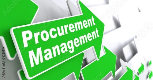 Procurement Management. Business Concept.