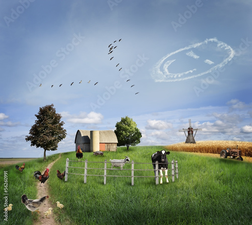 Country Life Concept