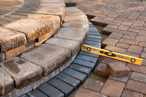 Level on Pavers - 56261972