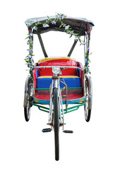 Bicycle taxi in Thailand