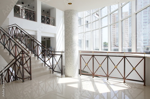 beautiful hall with stair