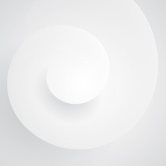 Spiral form background vector.