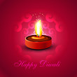 Beautiful Happy diwali diya colorful hindu festival  background