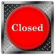 Closed metallic icon