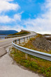 Famous bridge on the Atlantic road in Norway