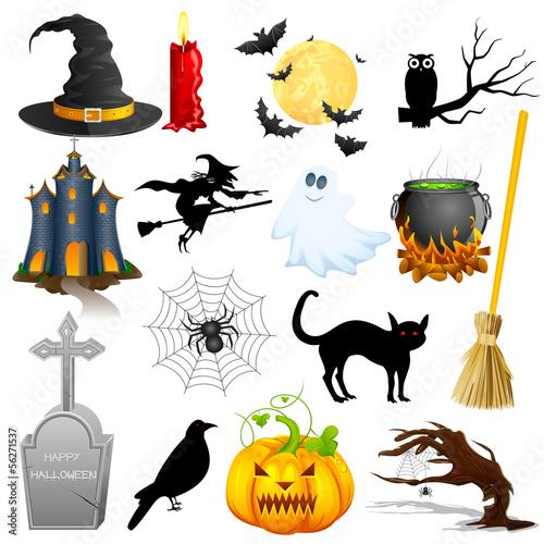 Halloween Object - 56271537