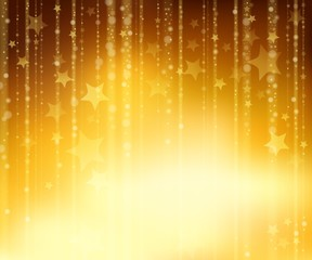 Abstract golden background 2