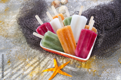 Colourful Fruit Ice Jolly